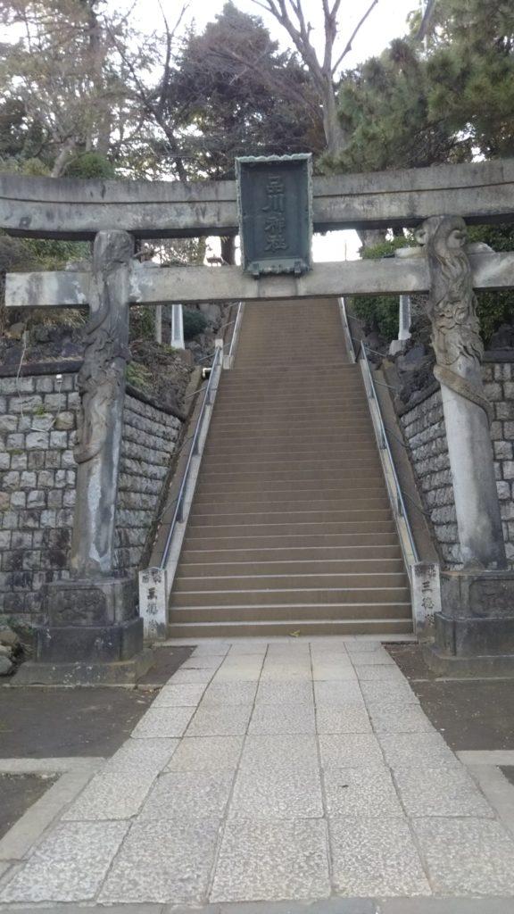 品川神社・双龍鳥居