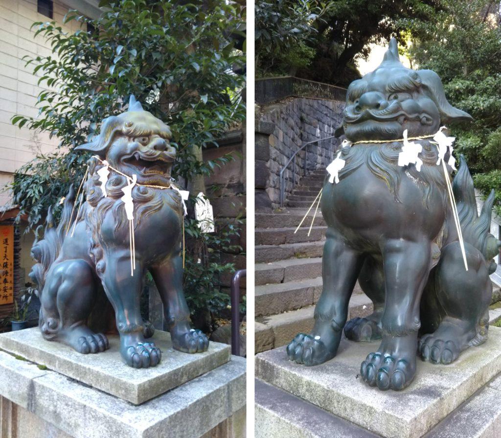 愛宕神社・狛犬