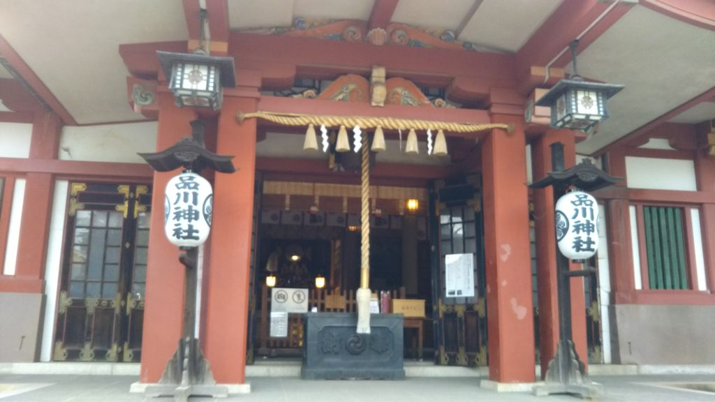 品川神社・本殿