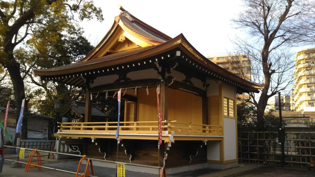 品川神社・神楽殿